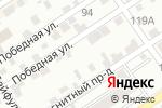 Схема проезда до компании Ровные петельки в Барнауле