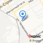 Продсервис на карте Барнаула