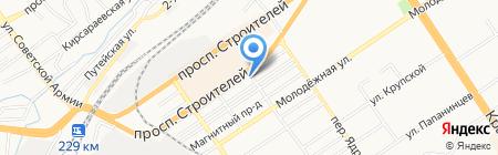 Пропаганда на карте Барнаула