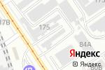 Схема проезда до компании Кортеж в Барнауле