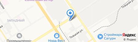 Mesuca на карте Барнаула