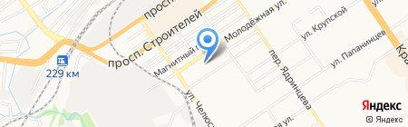 Ветеринарная аптека на карте Барнаула