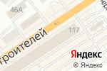 Схема проезда до компании Компания Лучшие Окна в Барнауле