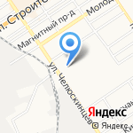 Фишка+ на карте Барнаула
