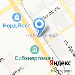 Натали на карте Барнаула