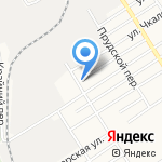 На Прудских на карте Барнаула