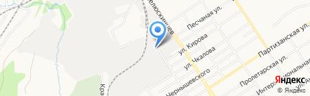 Аукционный Дом на карте Барнаула