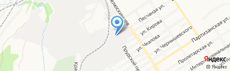 Центр-Недра на карте Барнаула