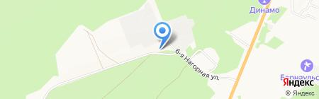 Вентиляция Алтая на карте Барнаула