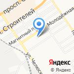 Государственная ветеринарная лечебница на карте Барнаула