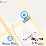 Автокорея22 на карте Барнаула