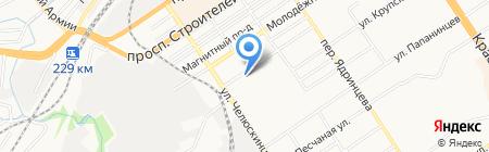 АвтоГарант на карте Барнаула