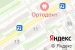 Схема проезда до компании Рони в Барнауле