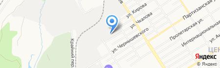 Алтайское поле на карте Барнаула