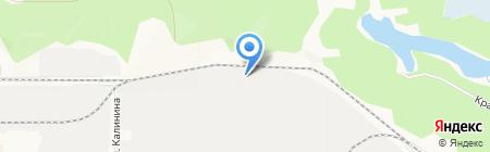 Щитмонтаж на карте Барнаула
