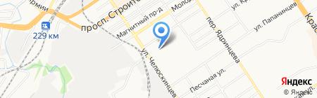 Магазин-склад сухофруктов и орехов на карте Барнаула