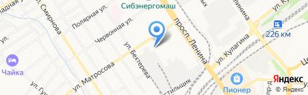 Lana Look на карте Барнаула