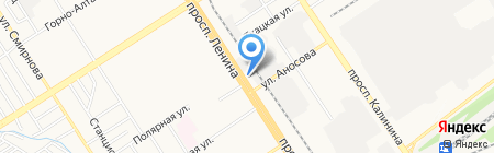ВыХод на карте Барнаула