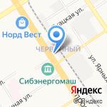 Светлый дом на карте Барнаула