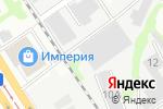 Схема проезда до компании Автодорстрой г. Барнаула, МБУ в Барнауле
