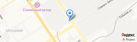 Интерсвязь на карте Барнаула