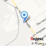 Универсал-Контракт на карте Барнаула