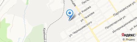 С-Импорт на карте Барнаула
