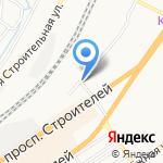 Междугородняя служба перевозки домашних вещей на карте Барнаула