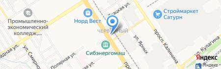 СтройГазПроект на карте Барнаула