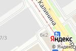 Схема проезда до компании АБАНЕРА в Барнауле