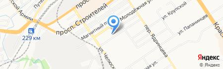 Алтайская краевая ветеринарная лаборатория на карте Барнаула