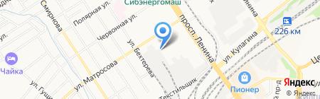 МЕДКОМ-МП на карте Барнаула
