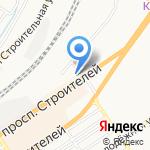 Барнаульская механизированная дистанция погрузочно-разгрузочных работ и коммерческих операций на карте Барнаула