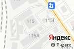 Схема проезда до компании Интерьер-Мастер в Барнауле