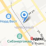 Автодорстрой г. Барнаула на карте Барнаула