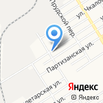 Роза на карте Барнаула