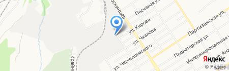 СК Проект на карте Барнаула