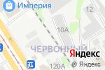 Схема проезда до компании Гаражный кооператив №12 в Барнауле