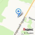 Карнеол на карте Барнаула