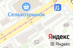 Схема проезда до компании Мир кухни в Барнауле