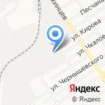 Алфавит на карте Барнаула