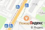 Схема проезда до компании Оптика в Барнауле