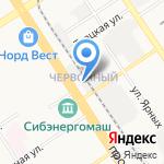 АБВ-МЕТАЛЛОКОНСТРУКЦИИ на карте Барнаула