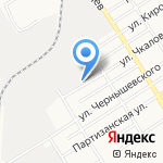 ТЕПЛОГИД на карте Барнаула