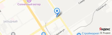 Сектор-А на карте Барнаула