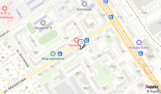 Аптека.ру. Схема проезда в Барнауле