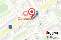 Схема проезда до компании Оазис в Барнауле