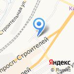 АлтайКонтейнер на карте Барнаула