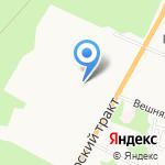 Квартал элит на карте Барнаула