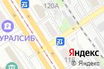 Схема проезда до компании Отрез в Барнауле